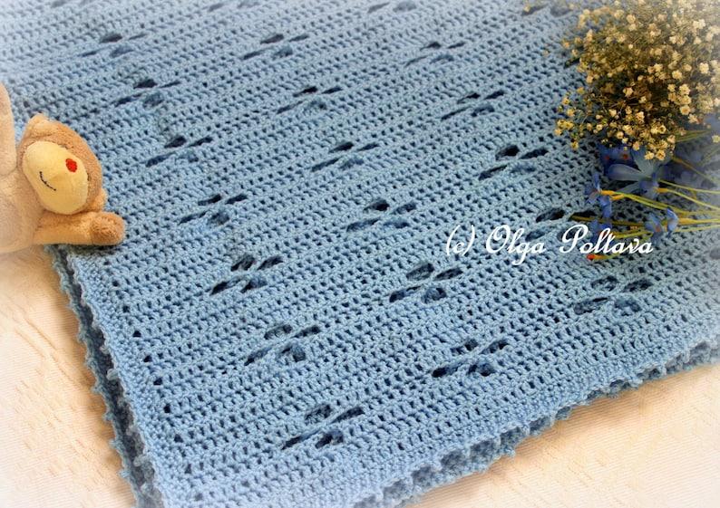 Soft Twinkle Baby Blanket Crochet Pattern Baby Boy Afghan Etsy