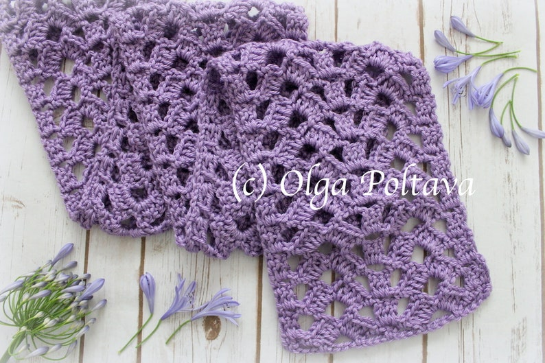 Easy Open Crochet Stitches