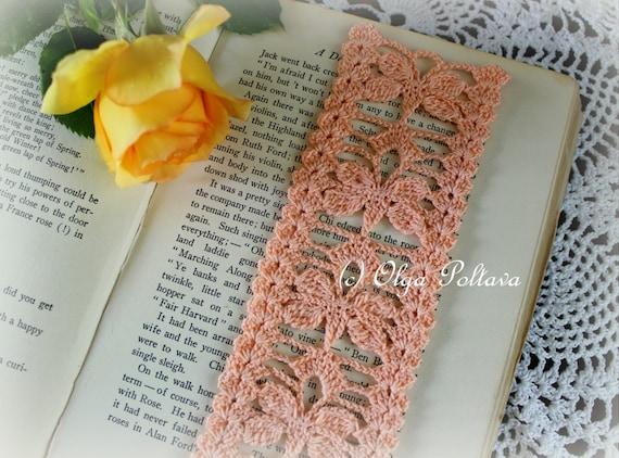 Butterflies Bookmark Crochet Bookmark Pattern Crochet Lace Etsy Cool Crochet Bookmark Pattern
