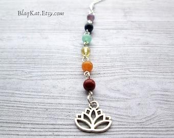Lotus Chakra Necklace Pendant