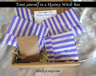 Mystery Witch Box, Witch Surprise Box, Pagan Mystery Bag, Witch Mystery Grab Box, Pagan Surprise Box, Witch Secret Box, Wicca lucky dip box