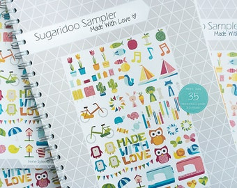 Sugaridoo Sampler ebook - 39 Paper piecing blocks