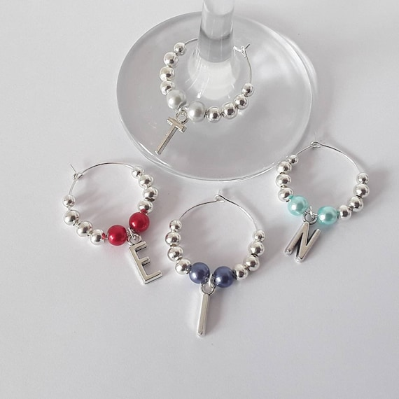 10 or 20 Wine Glass Charms Hen Night Team Hen BRIDE TO BE Favours HEN PARTY 6