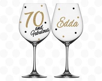 Fab birthday wine bag Celebrations & Occasions Gift Wrapping & Supplies 20th/30th/40th/50th/60th/70th/80th/90th Just add wine!