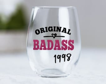 Funny 21st Birthday Gift For Her Original Badass Since 1998