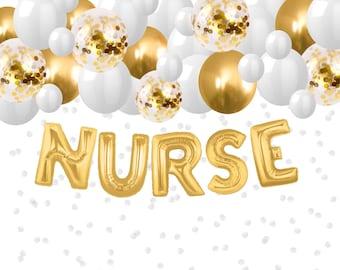 Nurse Grad Banner Etsy