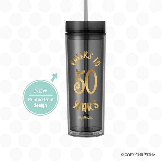 50th Birthday Gift For Sister In Law 50th Birthday Tumbler