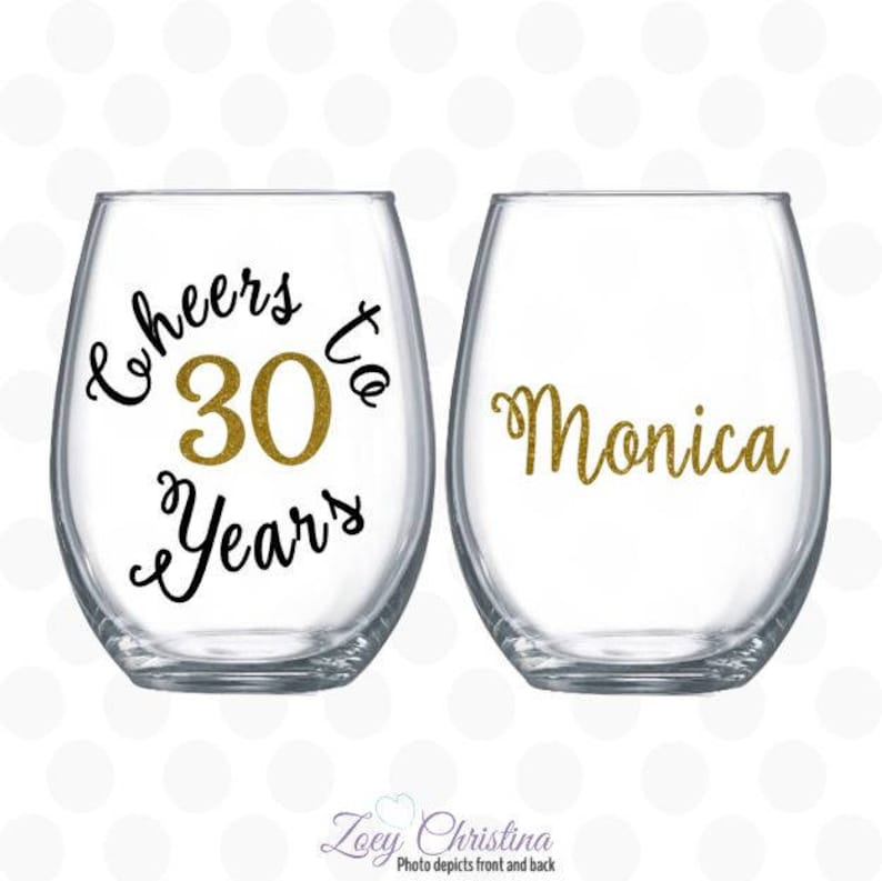Cheers To 30 Years 30th Birthday Gift For Women