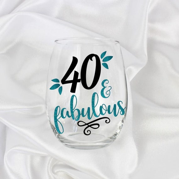 40th Birthday Gift For Women 40 Year Old Gifts And