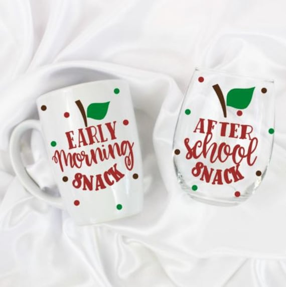 back to school teacher gifts christmas personalized teacher etsy