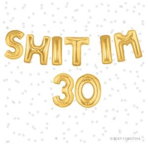 30Th Birthday Party Decoration Packs  from i.etsystatic.com