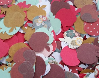 Fall Apples Paper Punches