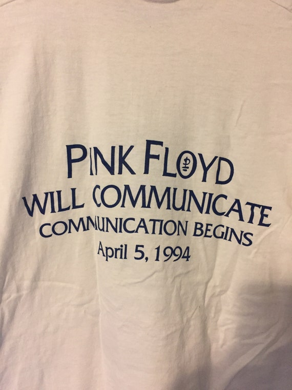 Vintage 1994 Pink Floyd The Division Bell Promo T… - image 5
