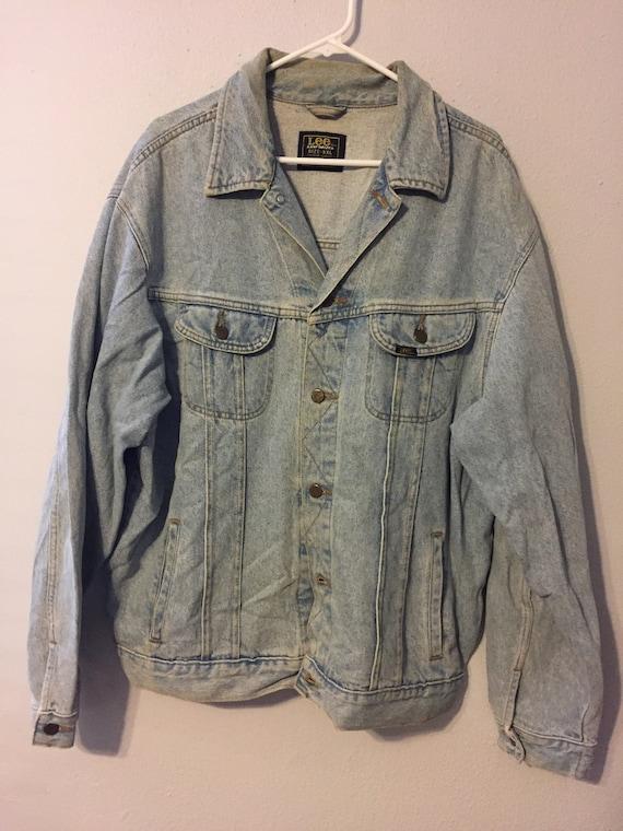 Vintage 1980s Lee Denim Jacket
