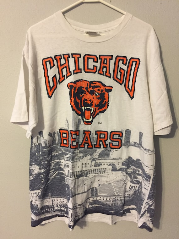 Vintage 1990s Chicago Bears Soldier Field Chicago