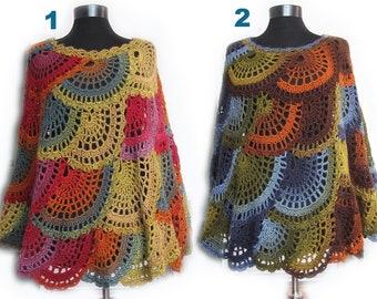 873cab62f51d9 Crochet poncho