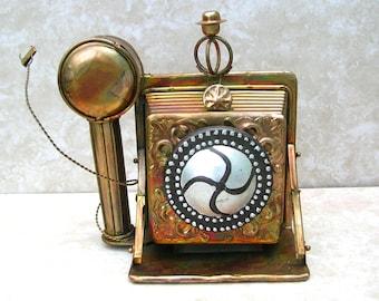 Vintage Metal Camera Music Box - Berkeley - Metal Music Box - My Favorite Things