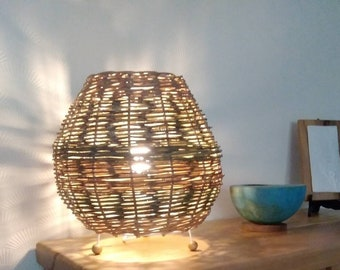 Willow table lamp.