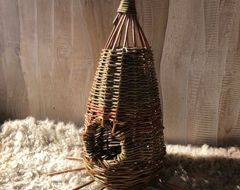 Willow bird house