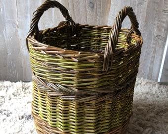 Small log or kindling basket
