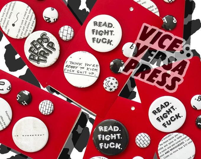 Vice Versa Press Button Set
