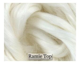 Ramie  Roving 2 oz DHG/'s Natural White