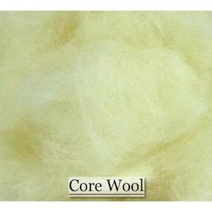 Core Wool Wool Stuffing Wet Felting Spinning Nuno Felting Wet Felting Needle Felting 8 ounces