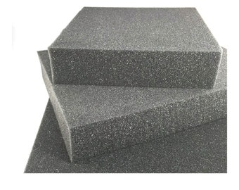 "Needle felting foam pad - 2"" thick - Dense charcoal color - Long lasting - Felting Supplies"