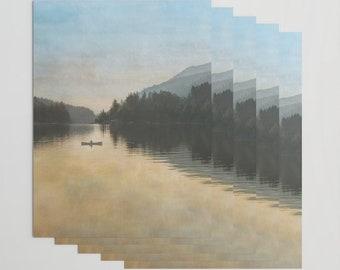 fa3ddaf15f8 Lake Sutherland Washington Wrapping Paper
