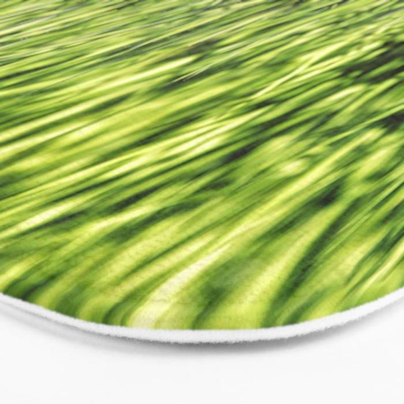 Kitchen Mat Lawn Grass Photo Printed Bath Mat Bath Mat Functional Art Gift Under 50 Memory Foam Bath Mat Green Grass Print