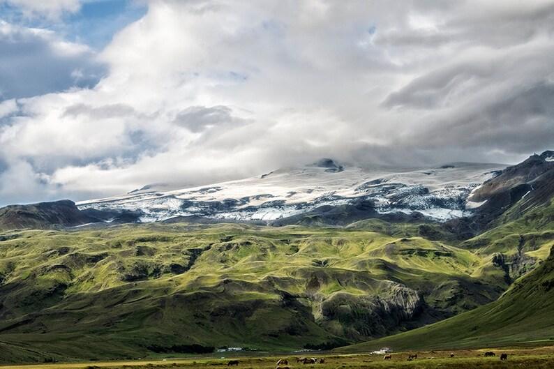 Mountain Landscape  Iceland Landscape  Travel Photography  image 0