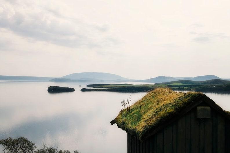 Iceland Travel Photography  Pingvallin Lake  Magical Tiny image 0
