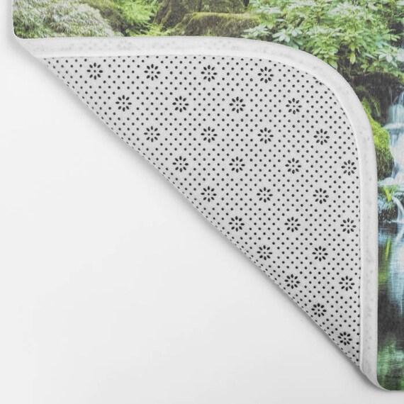 Jardin Japonais Mousse Tapis De Bain Sur Mesure Photographie De La