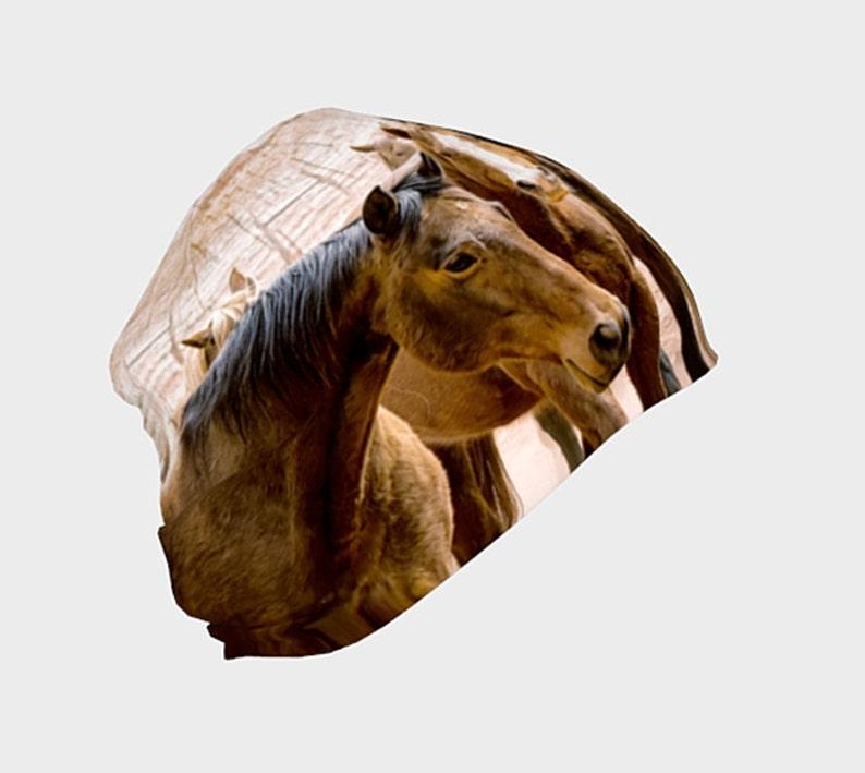 Beanie Mutze Mutze Beanie Geschenk Fur Pferdeliebhaber Etsy