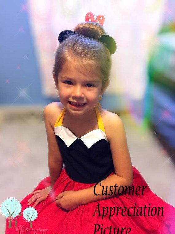 Mickey Mouse inspiriert Kleid Minnie Maus Co spielen Disney