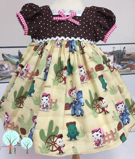Sheriff Callie Cowgirl Dress Retro
