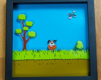 Duck Hunt - NES Shadowbox