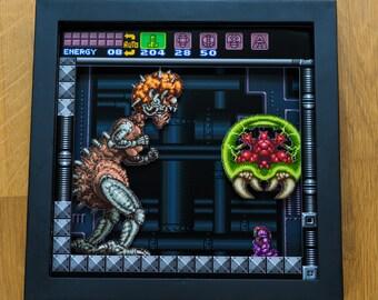 Super Metroid - SNES Shadowbox
