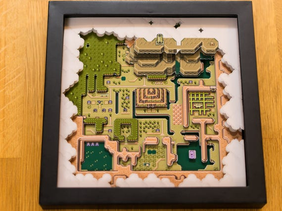 zelda a link to the past map