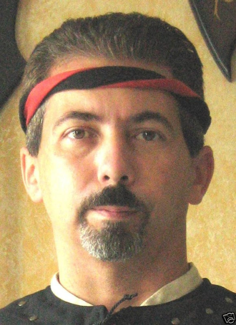 Medieval Celtic SCA Men-at-Arms Knight 2 Colors Headband