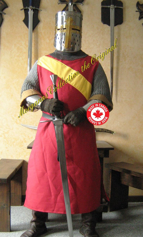 Medieval Knight Heraldry SCA Tabard Teutonic Surcoat Tunic Tabard