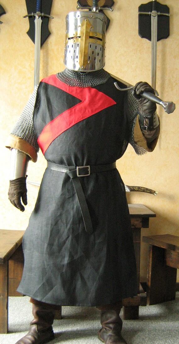 Medieval Knight Heraldry SCA Tabard Tunic Norman Surcoat