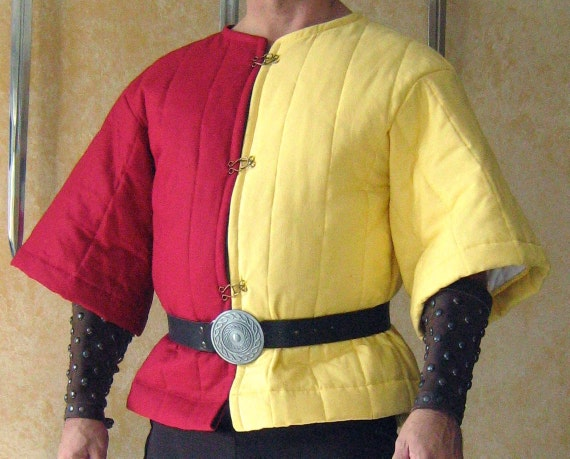Medieval Viking Gambeson For Chainmail Armor Reenactment Theater And Drama