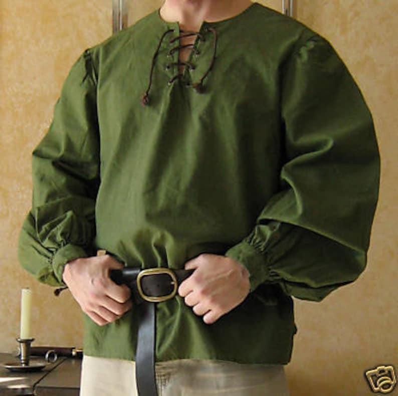Medieval Celtic Viking Long Sleeves Shirt
