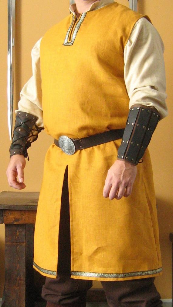Medieval Celtic Viking Barbarian Sleeveless Shirt