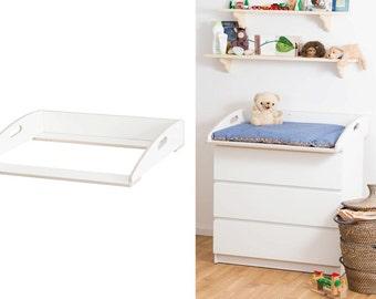 Wickelaufsatz 80 cm Wickelkommode Aufsatz für Ikea Malm | Etsy