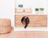 Cat baskets for Ikea Billy Regal