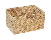 Ikea Billy Shelf Basket 36 x 25 x 20 cm from Water Hyacinth Storage Basket Folding Basket Shelf Box Storage Box Cabinet Basket