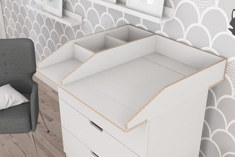 Emballage dattachement avec compartiment pour ikea nordli etsy