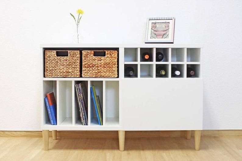 Piedini per mobili per IKEA Besta scaffale set di 4 | Etsy